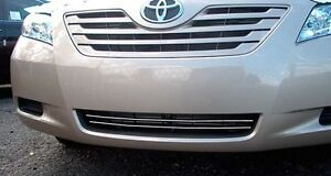 Lower Grill Grille Chrome Accent Trim Strips Kit Fit 2007 2009 Toyota Camry