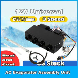 Universal Underdash Compact Ac A c Evaporator For Car Or Truck 4 Port