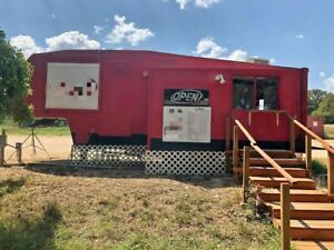 Turnkey Ready Used Food Concession Trailer In Great Shape For Sale In Texas