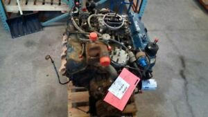 1982 Ford 370ci Engine Assembly 72psi 160 170 Compression 6456098