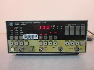 Hp Pulse Function Generator 8116a 50 Mhz