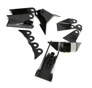 Weld On Triangulated 4 Link Suspension Brackets For 2 75 Axle Hot Rod Rat Truck