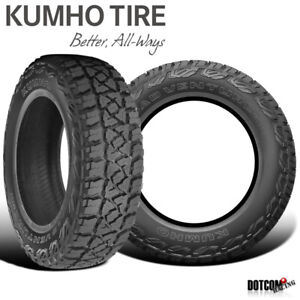 2 X New Kumho Road Venture Mt51 245 75r16 120 116n Off Road Mountain Tire