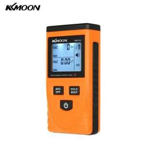 Digital Lcd Emf Meter Detector For Electric Magnetic Field Household Tester H3l5