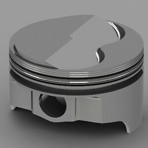 Icon Forged Piston Set Fits Ford 302 Rod 5 400 Solid Dome 6 8cc 2v