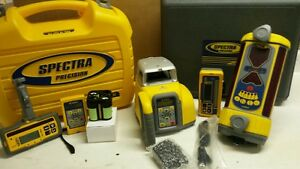 Spectra Precision Gl412n Laser Level Bulldozer Pkg W Lr50w Dm 20 Mount