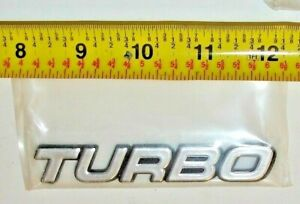 Turbo Kit Emblem Badge Logo Ford Mustang 5 0 Gt Cobra Camaro Racing Turbocharged