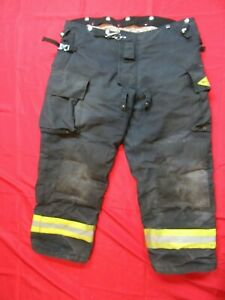 Mfg 2013 Black Gear Bunker Pants 46 X 29 Turnout Fdny Style Fire Quaker
