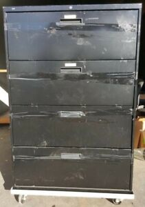 Hon Four drawer Lateral File Cabinet 36 w X 18 d