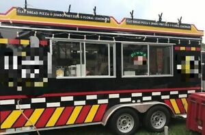 Amazing 8 X 16 Turnkey 2019 Catering Concession Trailer For Sale In Missouri