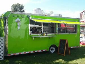 Used 18 Kitchen Food Trailer With Pro Fire Suppression System For Sale In Ohio