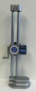 Mitutoyo 192 106 Dial Height Gage With Digital Counter 0 300mm Range 0 01mm