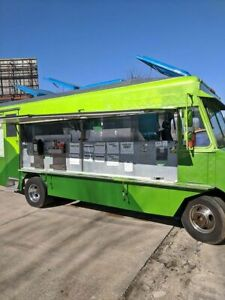 22 5 Chevrolet P30 Step Van Food Truck All Stainless Steel Mobile Kitchen For