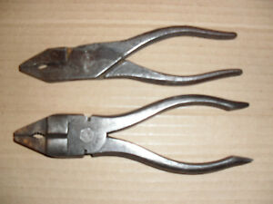 Shelly Pliers 2x Tool Kit Pliers British Made