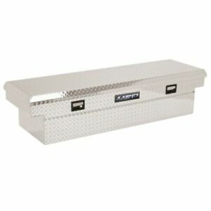 Lund 9210 60 inch Cross Bed Truck Tool Box Brite Aluminum New