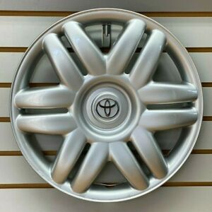 2000 2001 Toyota Camry 15 Silver Hubcap Wheelcover Factory Original