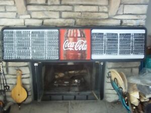 New Scratch Dent 6ft Coca cola Menu Board Sign W 4 Sets Of Letters Numbers