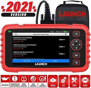 Launch X431 Crp129x Obd2 Code Reader Scanner Diagnostic Reset Tool Tpms Throttle