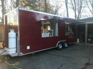 2018 8 6 X 22 Worldwide Food Concession Trailer Mobile Kitchen For Sale In