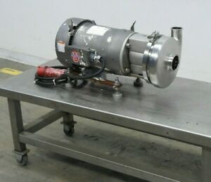Tri clover C328 Stainless Steel Centrifugal Pump 10hp