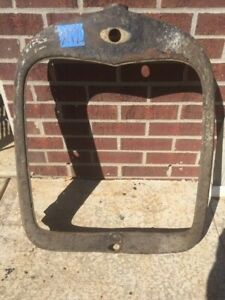 1928 1929 Ford Model A Radiator Grill Shell Rat Hot Rod Vintage Jalopy X12