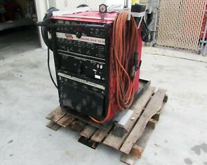 Lincoln Electric Square Wave Tig 350 Tig Stick Arc Welder