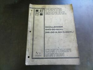 Hyster Challenger H40xl H50xl H60xl Forklift Parts Manual 599882