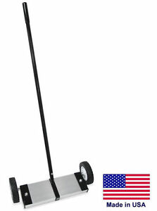 Magnetic Sweeper Commercial industrial 24 Cleaning Path 125 Lb Lifting Power