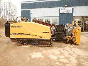 2008 Vermeer 24x40 Series 2 Directional Drill Boring Hdd Drilling