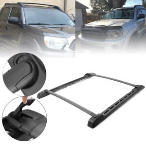 Style Roof Rail Rack Cross Bars Luggage For Toyota Tacoma Double Cab 2005 2019