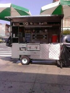 Remote controlled Stainless Steel 2015 3 8 X 7 Street Food Concession Cart F