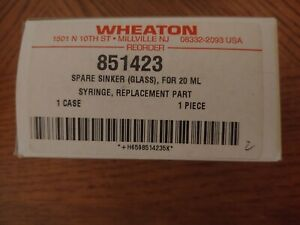 Wheaton 851423 Sinker For 20ml Syringe