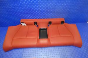2014 2019 Bmw 428ix Coupe Rear Seat Lower Bottom Cushion Red Lcl5 Oem F32