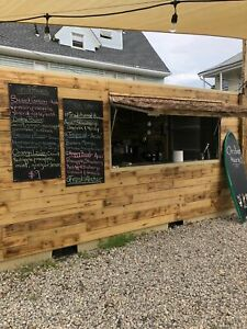 Lightly Used 2017 8 X 20 Shipping Container Mobile Beverage Unit For Sale In