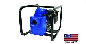 Water Pump Commercial Portable 3 Ports 8 Hp Vanguard 21 360 Gph 48 Psi