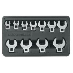 Sae Crowfoot Wrench Set 11 Piece