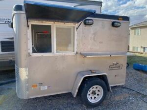 2004 Haulmark 5 X 7 5 Street Food Trailer used Concession Trailer For Sale In