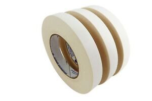 3 Rolls 18 Mm X 33 M Double Stick Sided Tape Woodworking Paper Rubber Adhesive