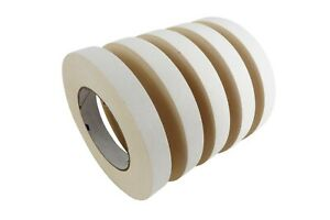 5 Rolls 18 Mm X 33 M Double Stick Sided Tape Woodworking Paper Rubber Adhesive