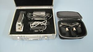 Orascoptic Dental Loupes W Sunburst Portable Led Light System In Good Condition