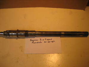Saginaw 3 Or 4 Speed Transmission Main Shaft Nice Used 27 Spline Checked Out