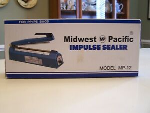Midwest Pacific Impulse Sealer Mp 12 12in