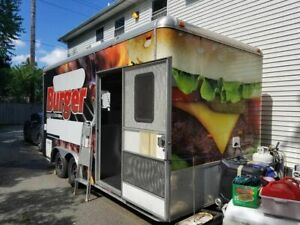 2012 Loaded Mobile Kitchen Food And Ice Cream Concession Trailer For Sale In New