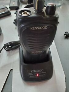 Kenwood Tk 3200l Uhf 2 Channel Radio Talkie Hand Held With Ksc 35 Charger