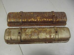 Vintage Oldsmobile Rocket V 8 Valve Covers Olds