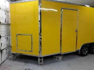 Beautiful Full Featured 8 5 X 16 V nose Food Concession Trailer For Sale In Ne