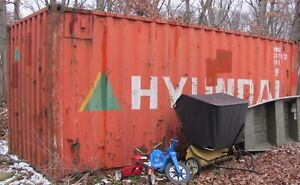20ft Standard Shipping Container