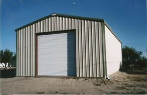 Steel Building 21x40x12 Metal Building Kit Garage Workshop Barn Structure Prefab