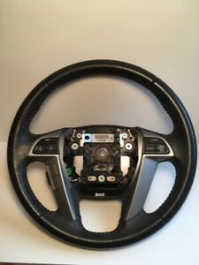 2008 2012 Honda Accord Black Leather Steering Wheel With Switches