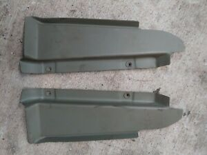 1930 31 Ford Model A Front Subrail Floor Toe Board Set Pair Original Sedan Coupe